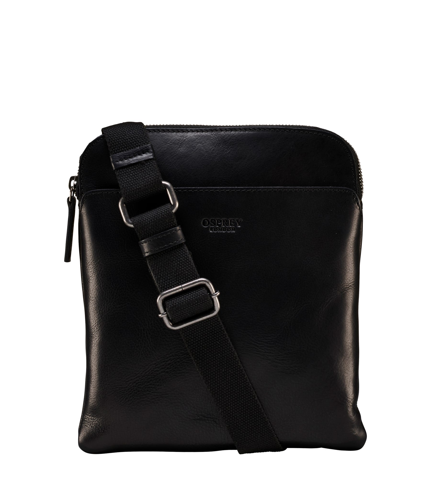 An image of The Small Fieldy Leather Messenger