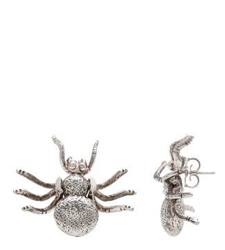 The Spider Sterling Silver Stud Earrings | OSPREY LONDON