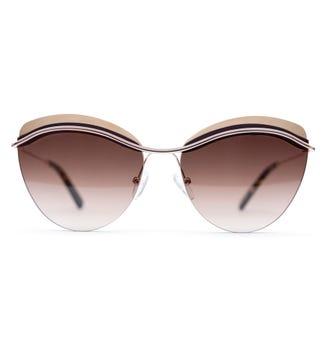 Skye Sunglasses in wildfire gold | OSPREY LONDON