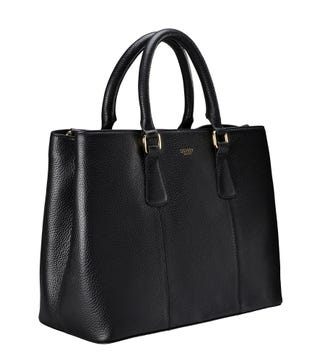 The Adaline Workbag in black | OSPREY LONDON