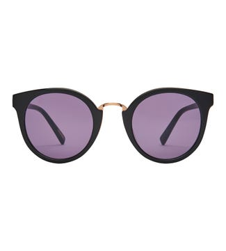 Antibes Sunglasses in black | OSPREY LONDON