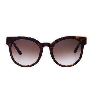 Atoll Sunglasses in chocolate tortoiseshell | OSPREY LONDON