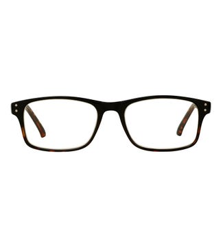 The Ballard Reading Glasses in shiny black graduated tortoiseshell | OSPREY LONDON