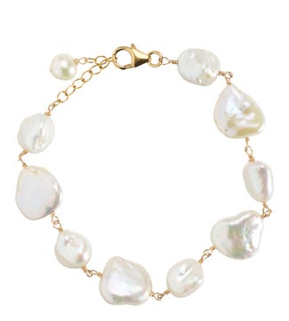 The Baroque Pearl Bracelet | OSPREY LONDON