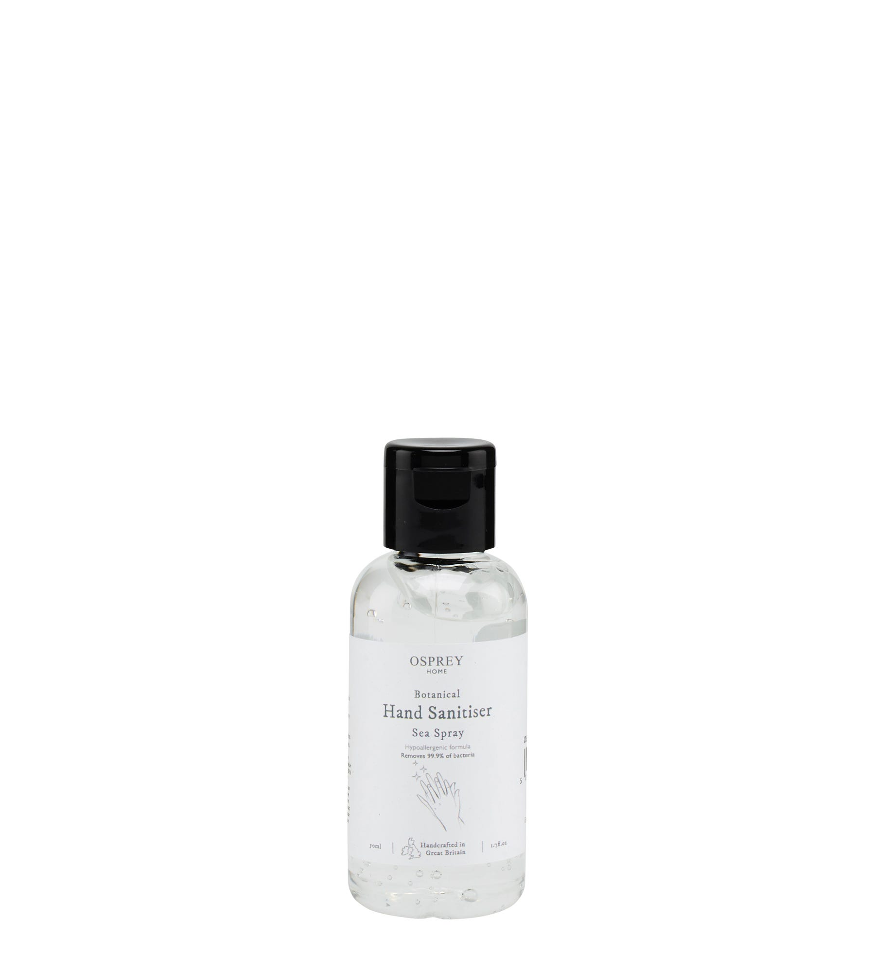 An image of Botanical Hand Sanitiser 50ml PET