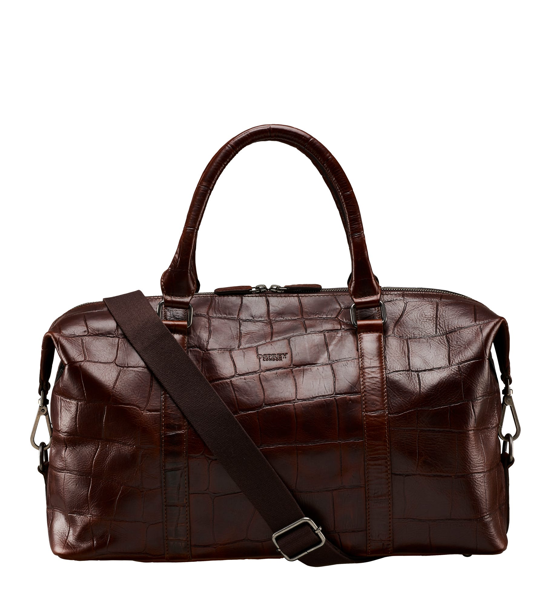 An image of The Brixton Leather Weekender
