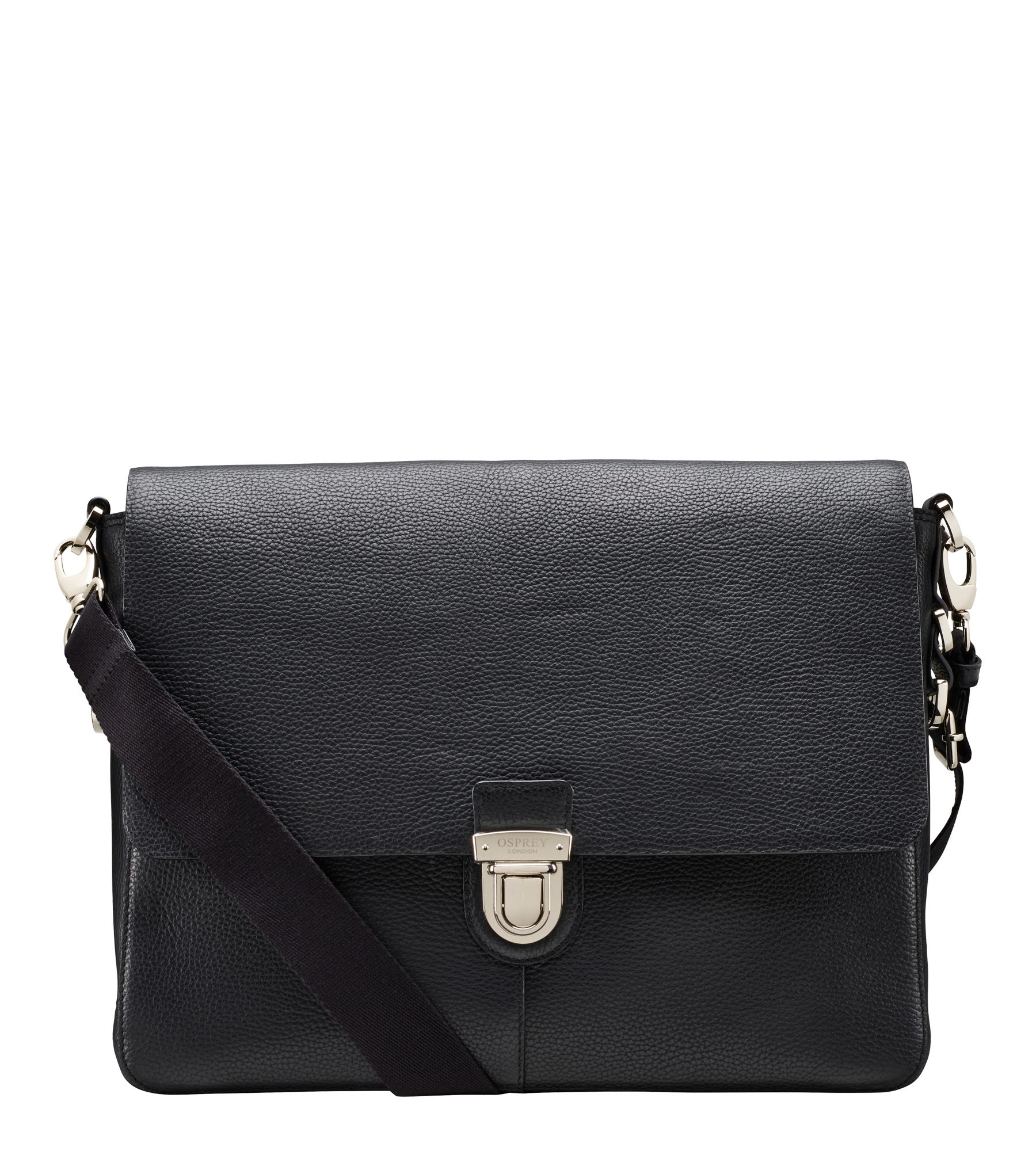 An image of The Broadgate Leather Laptop Bag