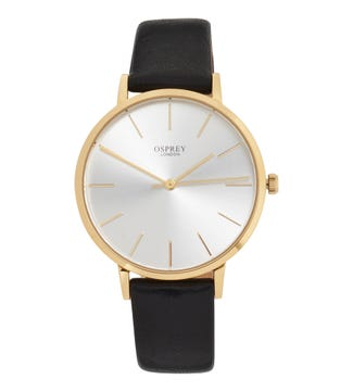 The Carlsten Ladies' Watch in black | OSPREY LONDON