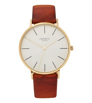 The Carlsten Gentlemen's Watch in tan | OSPREY LONDON