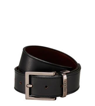 The Crawford 3.5cm Reversible Leather Belt