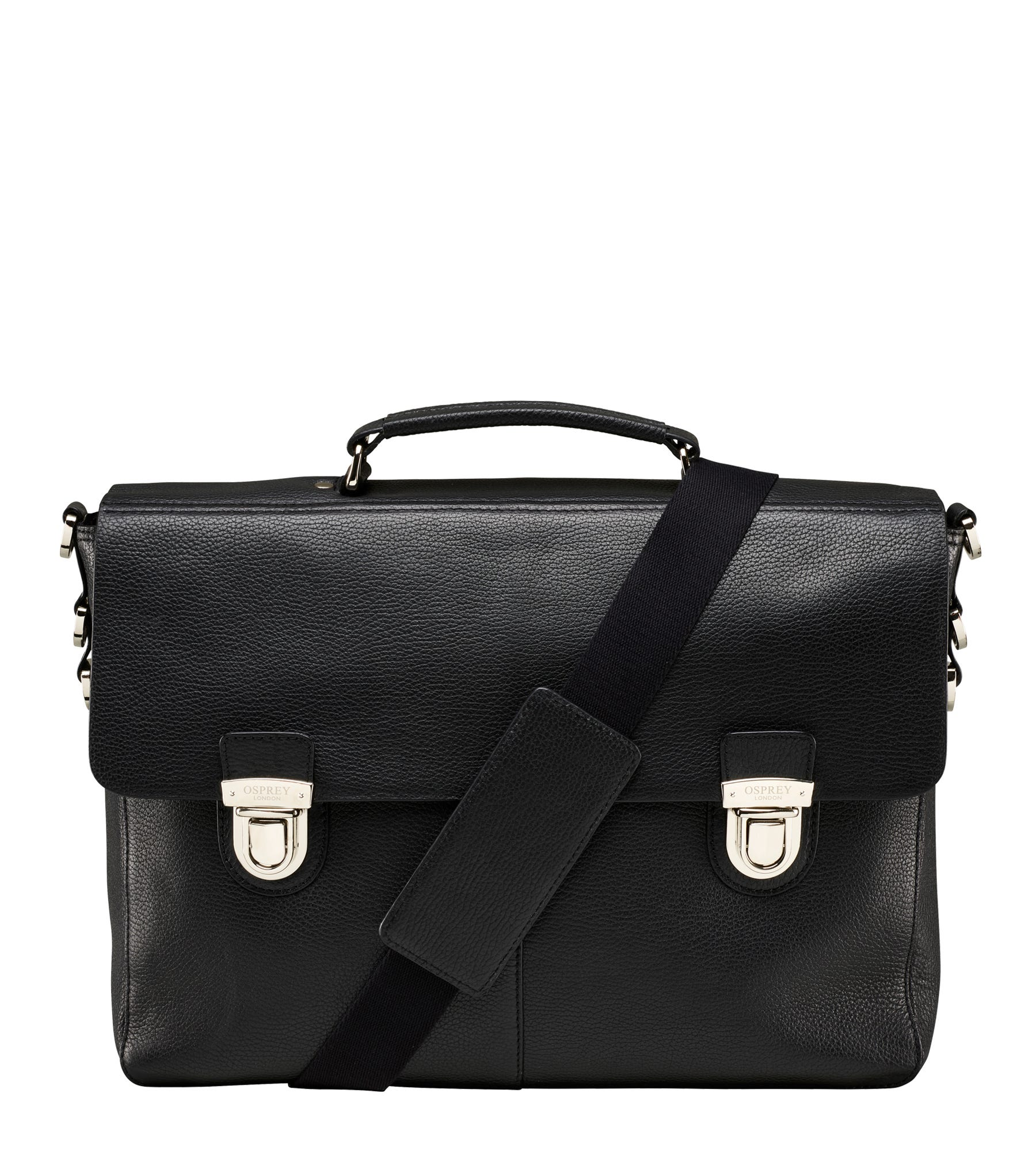An image of The Frankie Leather Briefcase