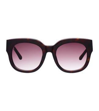 Island Sunglasses in chocolate | OSPREY LONDON