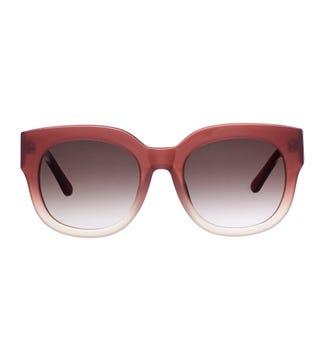 Island Sunglasses in rose | OSPREY LONDON