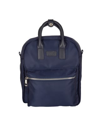 The Jessica Nylon Backpack in navy blue | OSPREY LONDON