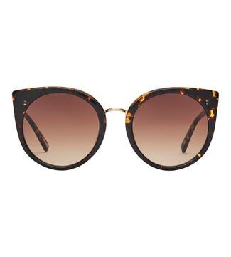 Kauai Sunglasses in chocolate | OSPREY LONDON