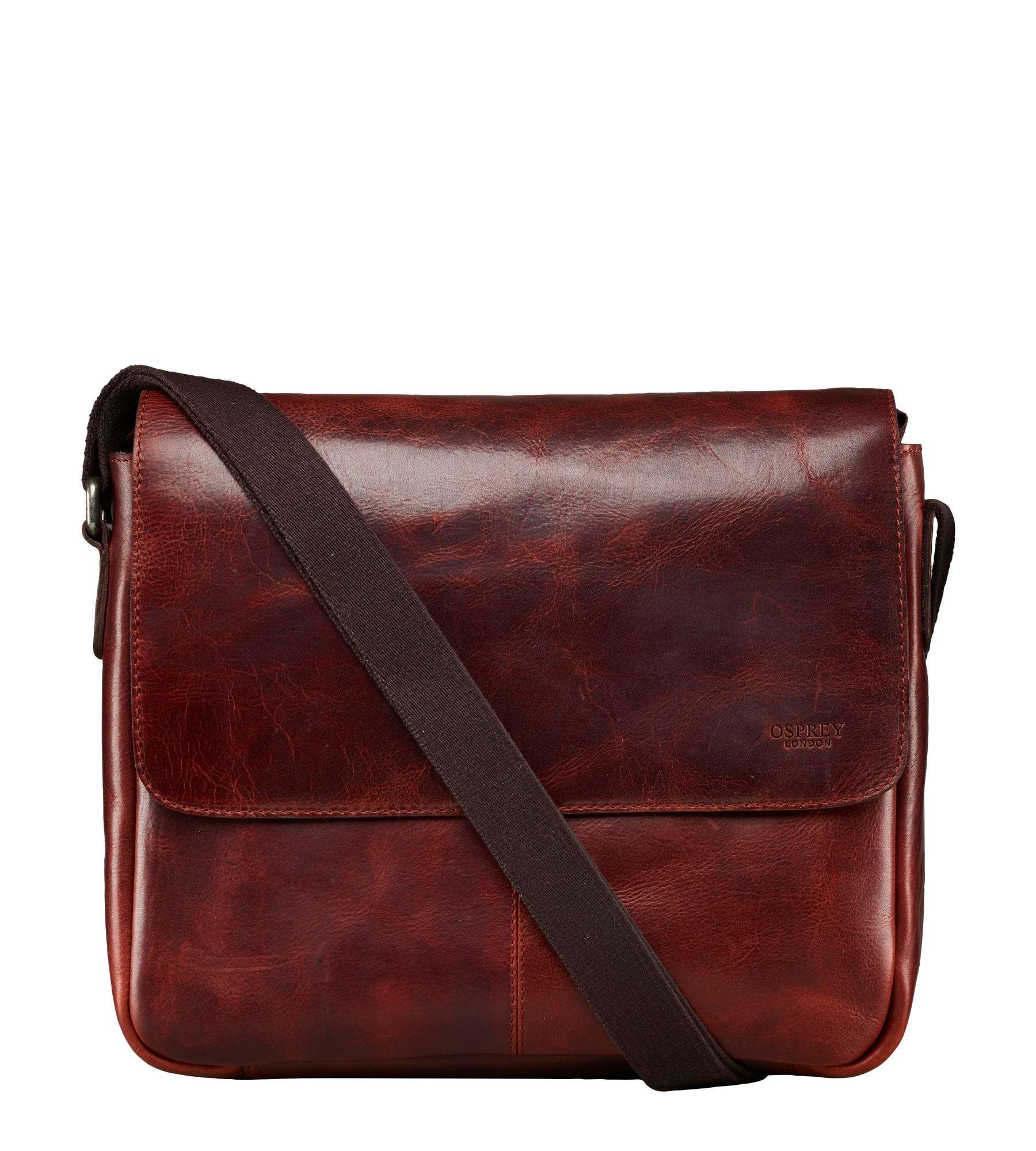 An image of The Large Brooks Leather Messenger