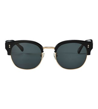 The Latitude Unisex Sunglasses in black | OSPREY LONDON