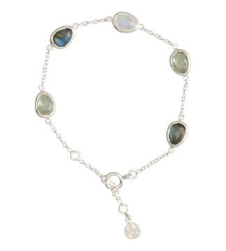 The Mara Sterling Silver & Gemstone Bracelet | OSPREY LONDON