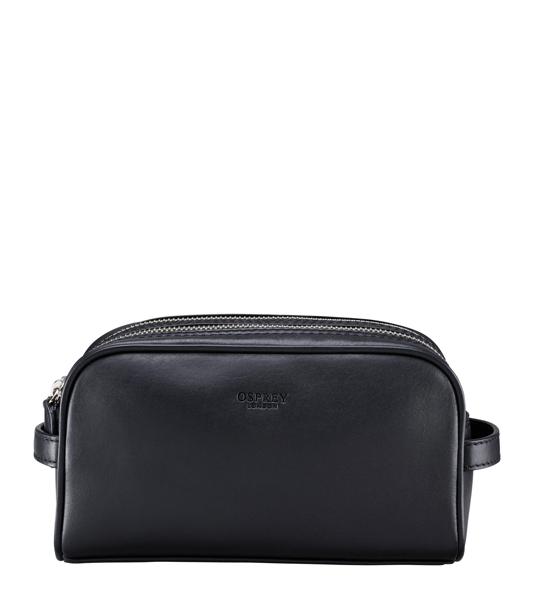 An image of The Pall Mall Leather Washbag
