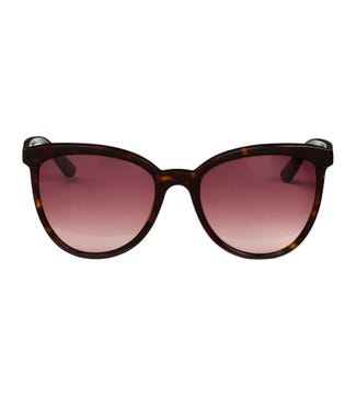The Paradise Sunglasses in chocolate tortoiseshell | OSPREY LONDON