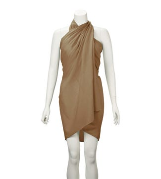 The Rainbow Cotton 3-in-1 Wrap in beige