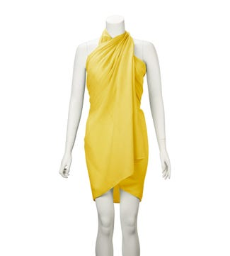 The Rainbow Cotton 3-in-1 Wrap in pineapple