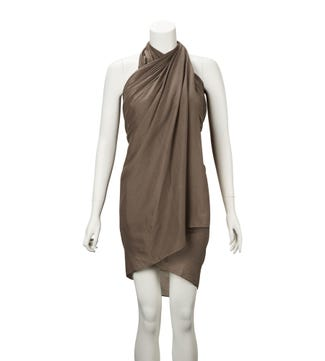 The Rainbow Cotton 3-in-1 Wrap in taupe
