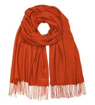 The Rainbow Wrap in orange | OSPREY LONDON
