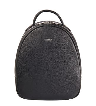 The Skylar Leather Backpack in black | OSPREY LONDON