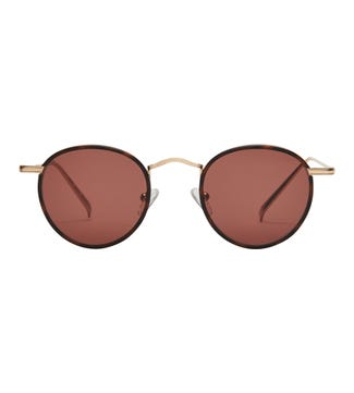 Tianzi Sunglasses in chocolate | OSPREY LONDON