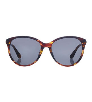 Tropical Sunglasses in chocolate flame | OSPREY LONDON