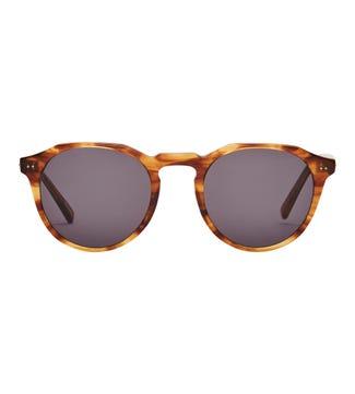 Wadi Sunglasses in brown | OSPREY LONDON