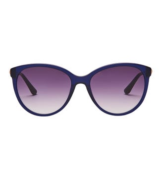 Tropical Sunglasses in blue | OSPREY LONDON