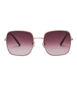 Utopia Sunglasses in gold | OSPREY LONDON