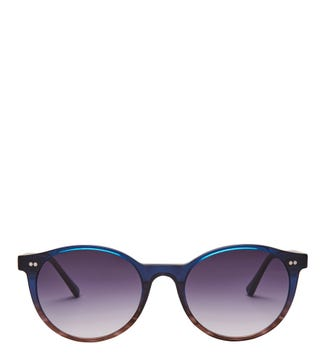 Voyager Sunglasses in blue| OSPREY LONDON
