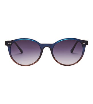 Voyager Sunglasses in blue | OSPREY LONDON