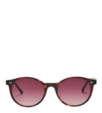 Voyager Sunglasses in chocolate tortoiseshell | OSPREY LONDON