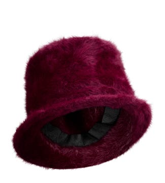 The Winter Hat in burgundy | OSPREY LONDON