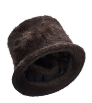The Winter Hat in chocolate | OSPREY LONDON