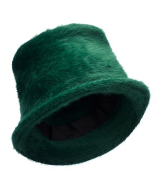 The Winter Hat in forest green | OSPREY LONDON
