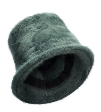 The Winter Hat in moss green | OSPREY LONDON