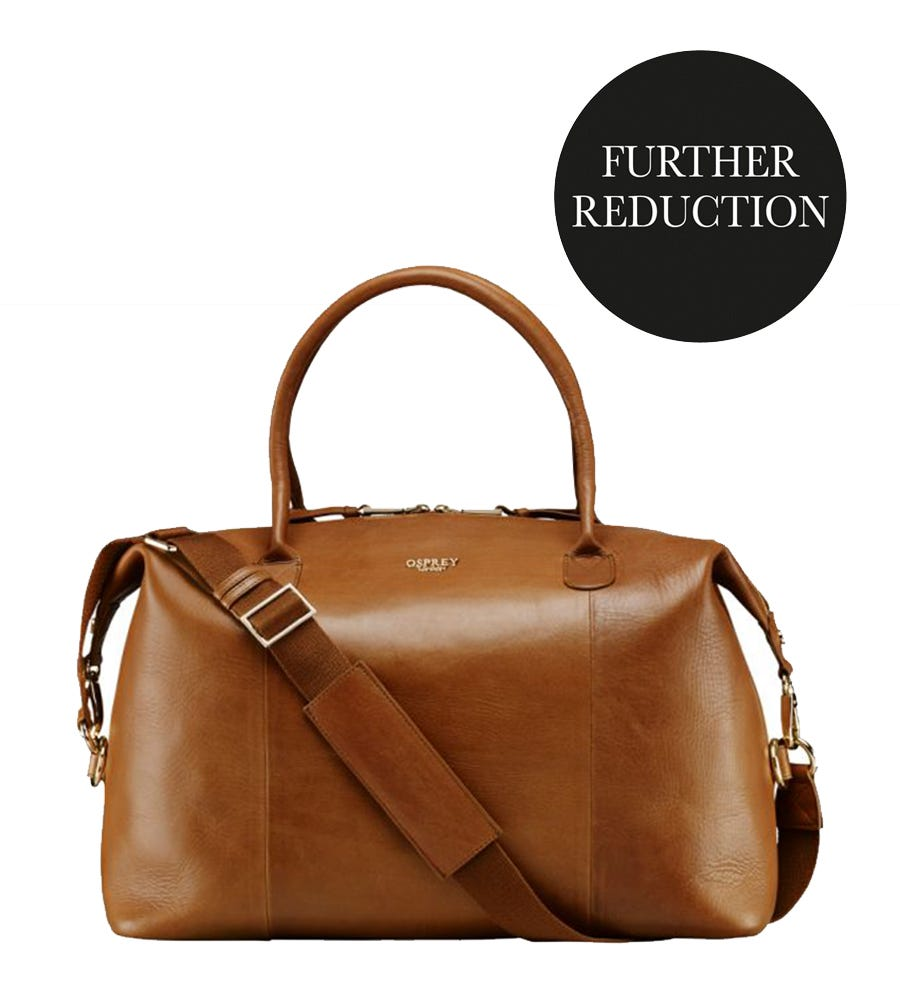 An image of The Helmsley Leather Weekender