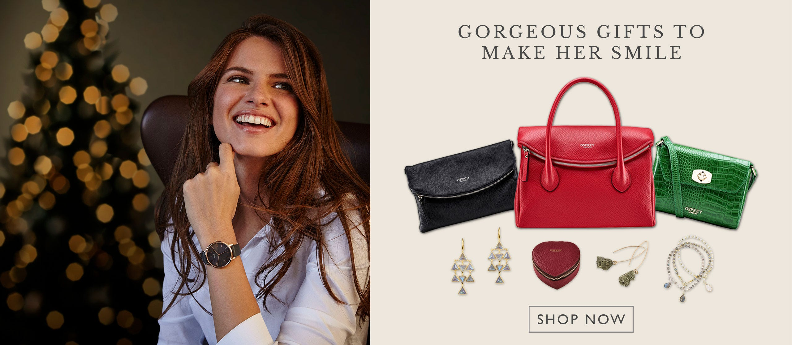 OSPREY LONDON | GORGEOUS GIFTS TO MAKE HER SMILE