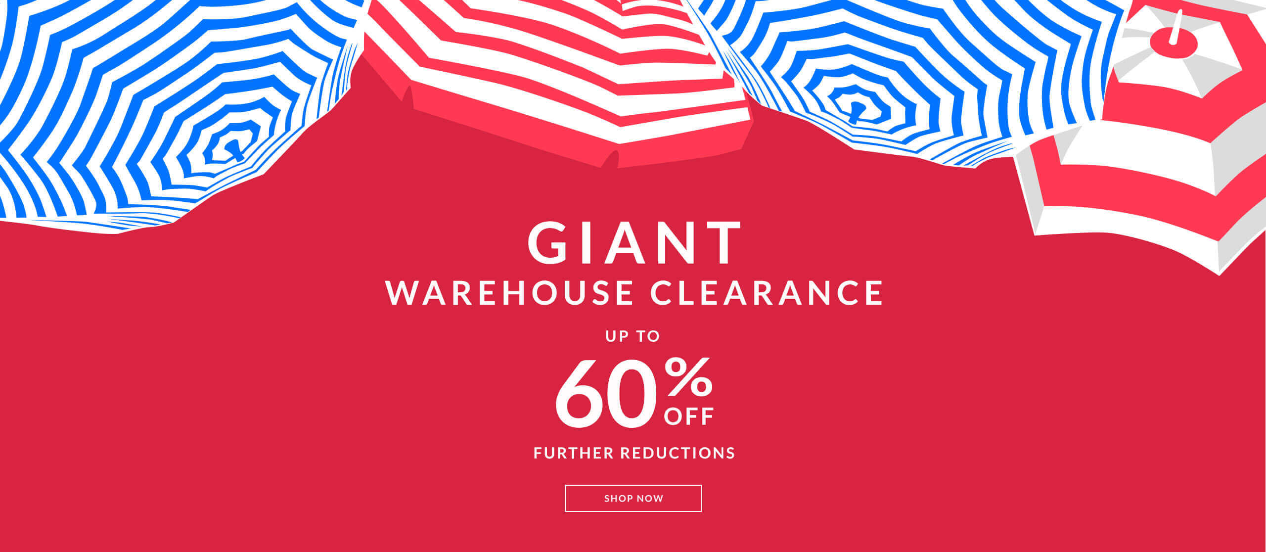 Further reductions of up to 60% in the OSPREY LONDON Giant Warehouse Clearance