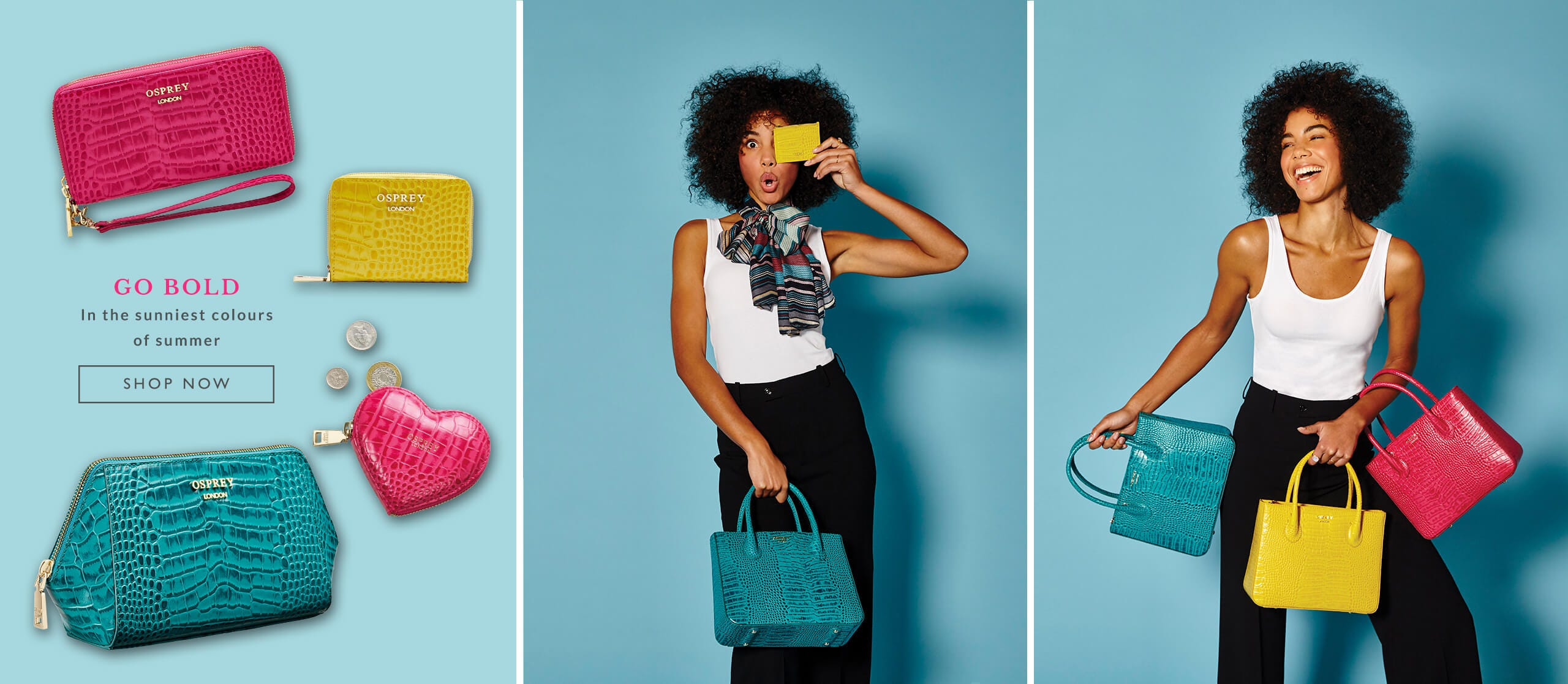 Go bold in the sunniest colours of the summer