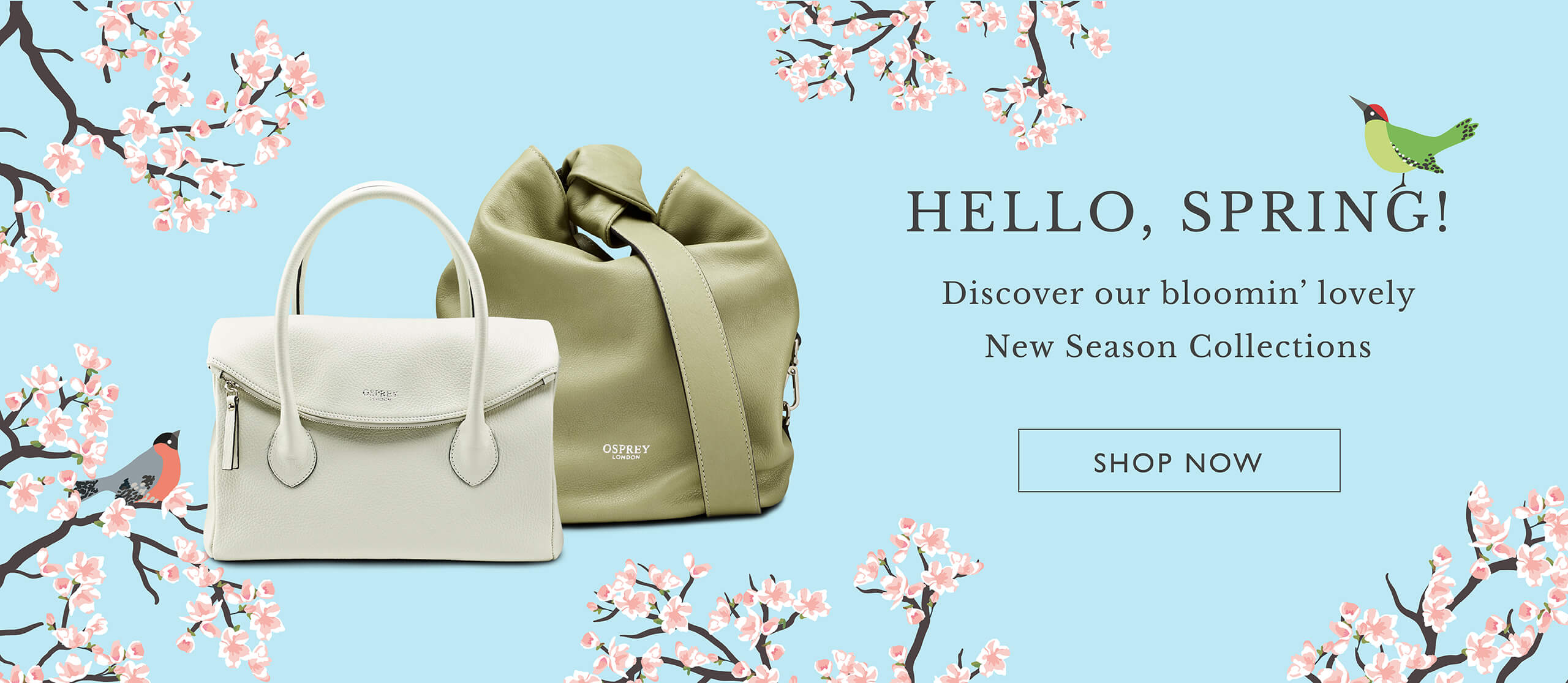 Shop the OSPREY LONDON New Season Collections