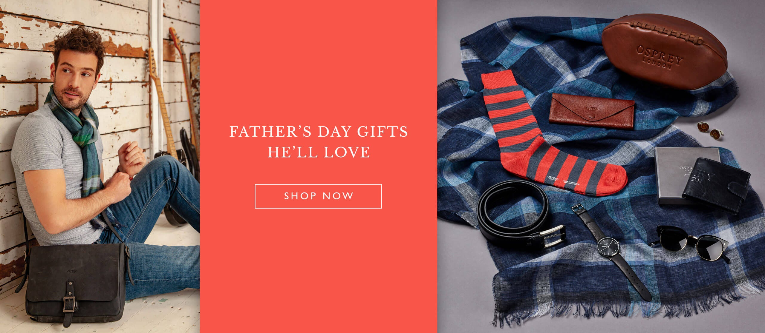 Shop the OSPREY LONDON Father's Day edit