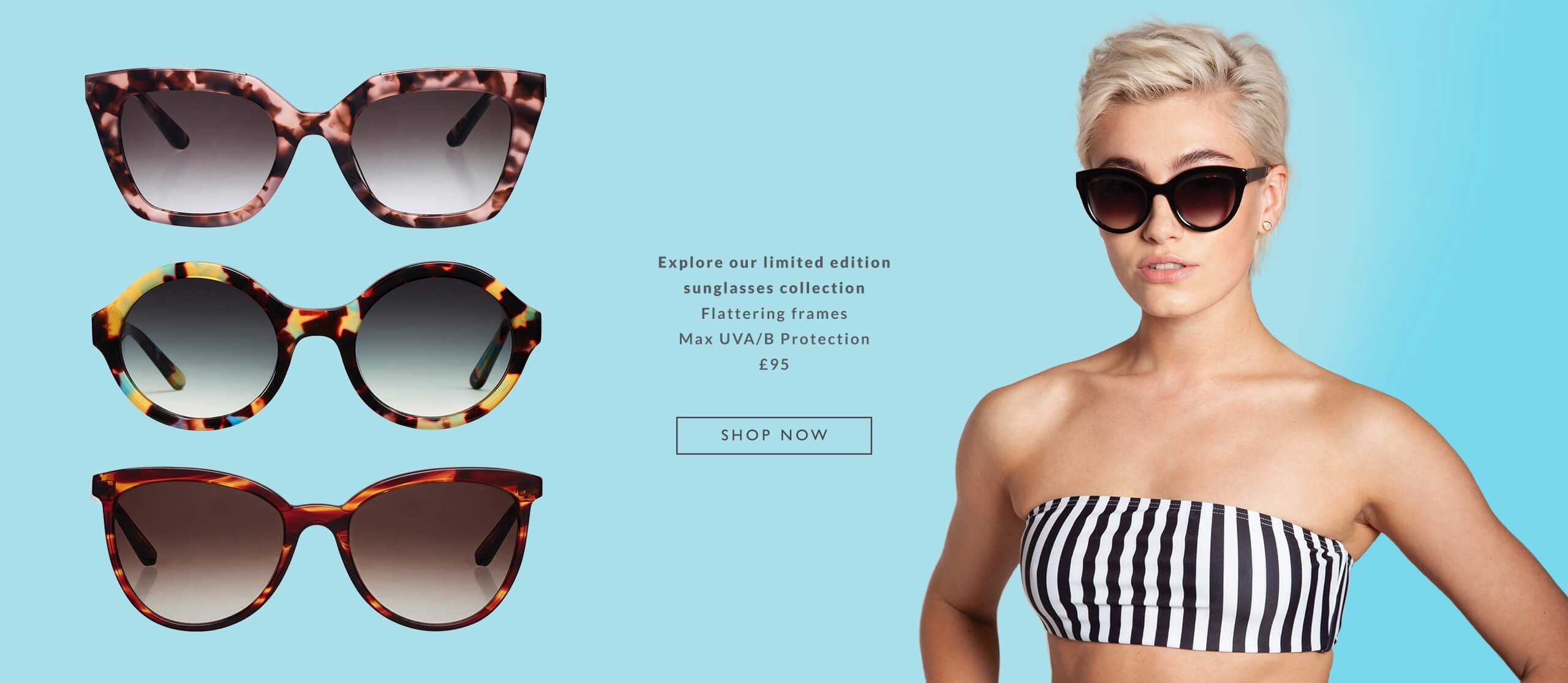 Explore the OSPREY LONDON Sunglasses Collection