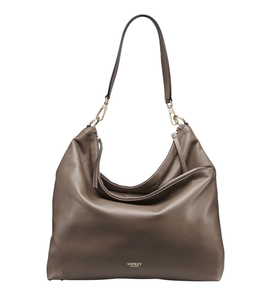 THE ANDORRA LEATHER HOBO