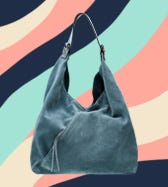 THE LIBERTY ITALIAN SUEDE HOBO